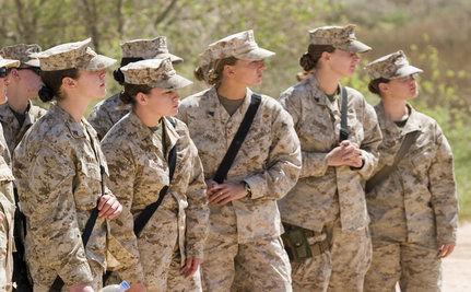 In Afghanistan, Female Marines Defy Gender Roles