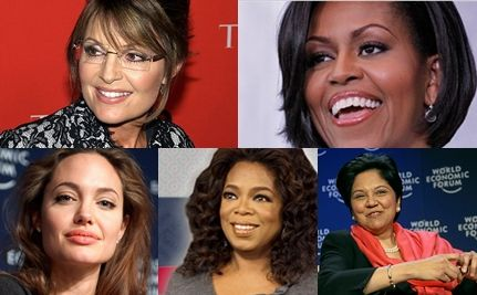 The World's Most Powerful Women: Palin, Oprah, Obama and More
