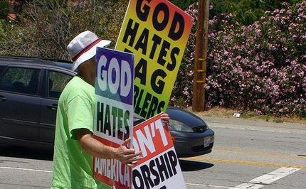 Protesting Homosexuality at Funerals