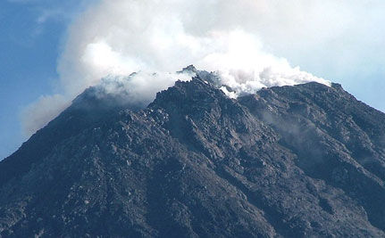 Indonesia's Volcano Eruption Forces Evacuation of Children