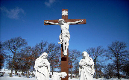 "Smithsonian Removes ""Sacrilegious"" Jesus Video Art"