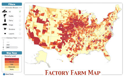 Data Shows 20 Percent Growth in Factory Farming In Past 5 Years