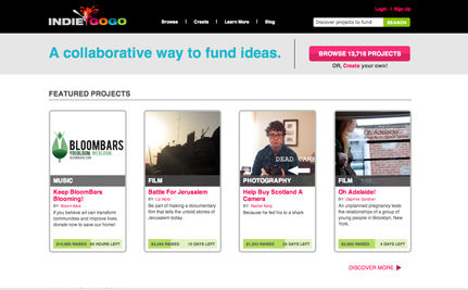 Crowdfunding: Investment for Good