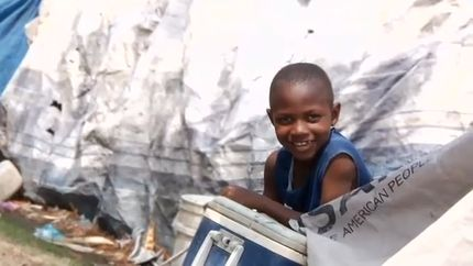 Haitian Boys' Hip-Hop Music for Hope (VIDEO)