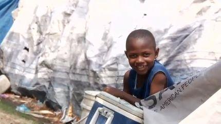 Haitian Boys' Hip-Hop Music for Hope (VIDEO)
