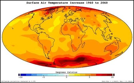 2010 Ties 2005 for Hottest Year on Record