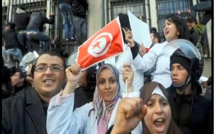 People's Uprising Creates Hope in Tunisia