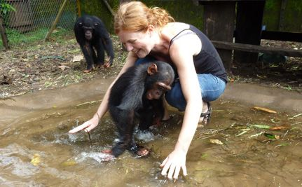 Mud Heals at African Oasis