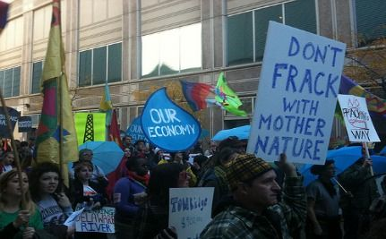 Gas Co. Investors Demand Disclosure Of Fracking Chemicals