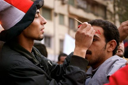 Revolution's Softer Side: Tahrir Square Is a Stage for New Poetry and Performance