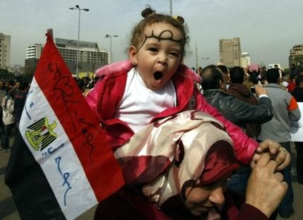 Egyptian Military Vows Commitment To Civilian Rule; Protests Reverberate Throughout Middle East