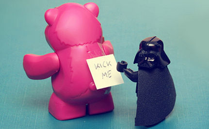 "Nine-Year-Old Suspended For ""Kick Me"" Post-It"