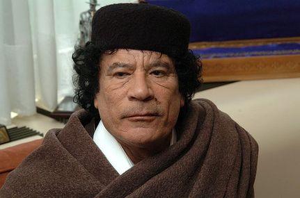 "In Television Address, Gaddafi Vows To Fight On And ""Die A Martyr"""