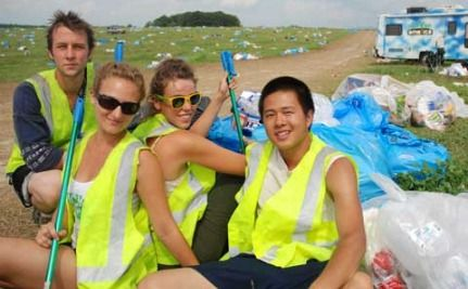 73,000 Pounds of Trash Picked Up in One Year