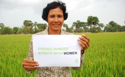 In the Fight Against Hunger, Women Lead the Way