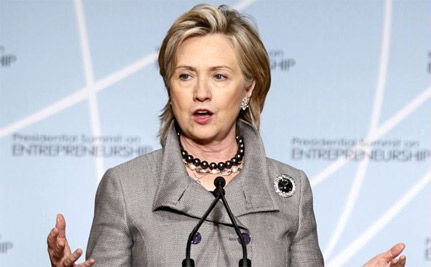 Secretary of State Hillary Clinton Marks 100th Year of International Women�s Day