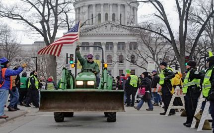 Massive Protest In Wisconsin Shows Walker's Overreach