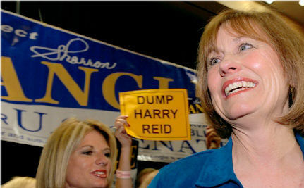 My 2012 Is Complete: Sharron Angle Is Running for Congress