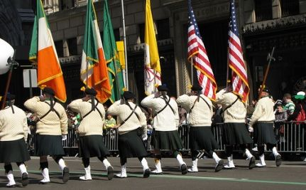 Vets Excluded from Official St. Patrick's Day Parade Create Gay-Inclusive Peace Parade