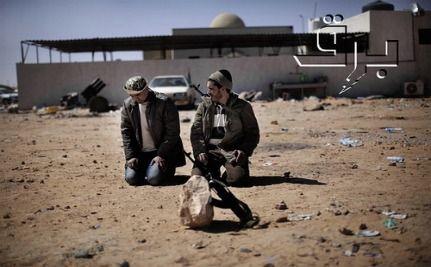 NATO Airstrike Said to Kill 13 Rebels in Libya