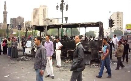 2 Killed in Army Crackdown in Tahrir Square in Cairo [VIDEO]