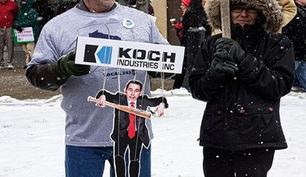 How the Koch Brothers Fund the Climate Change Denial Machine