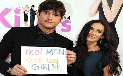 Ashton Kutcher Launches Misguided Anti-Sex Trafficking Campaign