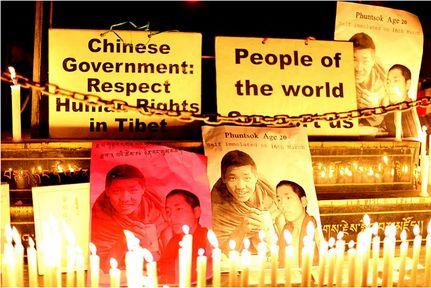 Crackdown on Tibetan Monks