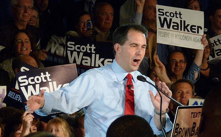 WI Union-Killer Bill Saves NO Money , Gov. Admits (VIDEO)
