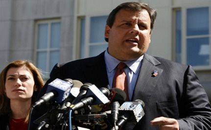 "Christie Asks Reporters to ""Take the Bat Out"" on State Sen: Just Rhetoric? (VIDEO)"