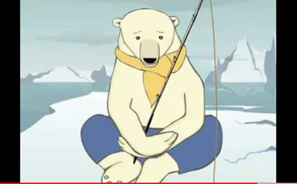 Polar Bears Discuss Global Warming VIDEO