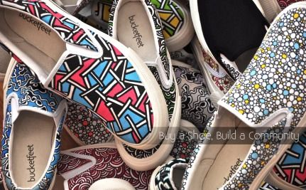BucketFeet: Buy One, Give Some