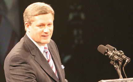 Big Blue Book of Controversial Harper Quotes Leaked