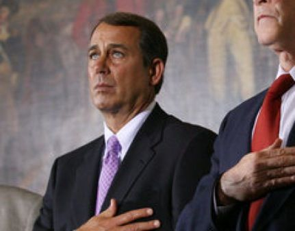 "Boehner: Oil Should ""Pay Fair Share"" But Not Pay Taxes or Lose Subsidies"