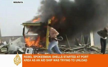 Criticism of NATO After Airstrikes Reportedly Kill Gaddafi's Son & Grandchildren (VIDEO)