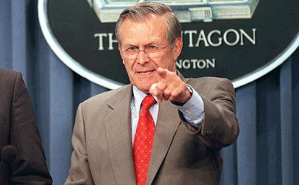 UPDATED: Rumsfeld: Bin Laden Info from Gitmo NOT from 'Harsh Treatment' Or 'Waterboarding'