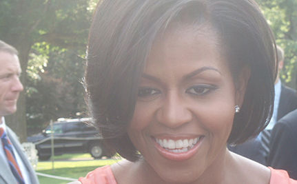 What A Great First Lady! Michelle Obama Does The Dougie With Middle Schoolers – VIDEO