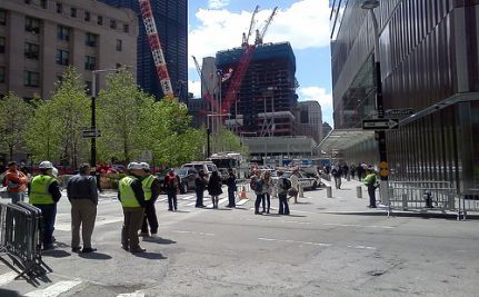 Obama Visits Ground Zero Where the WTC Once Stood (VIDEO)