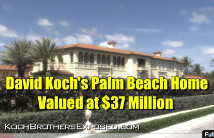 Koch Brothers Have Seven Homes, Seniors Struggle To Survive [VIDEO]