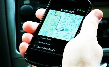 Drivers Save Money With New Green GPS Technology