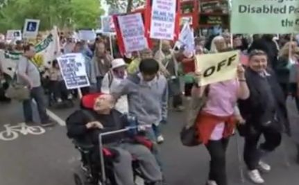 Hardest Hit March: Thousands Protest Cuts to Disability Benefits in the UK (VIDEO)