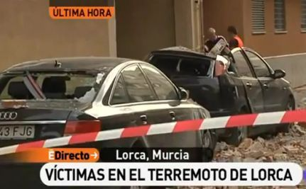 At Least 10 Killed in 2 Earthquakes in Spain (VIDEO)