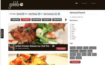"""Gobble"" Helps You Order Take-Out From Your Neighbors' Kitchens"
