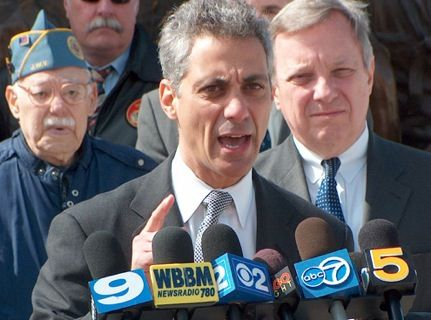 Rahm Emanuel Is Getting Sworn The ^$%^&$ In As Chicago's New Mayor