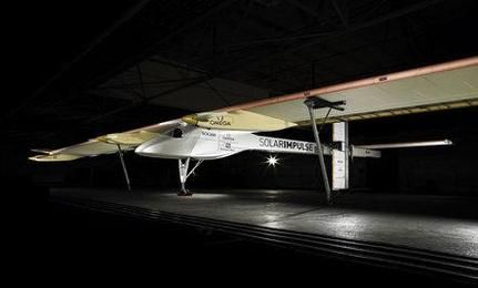 Solar Plane Completes World's First International Flight