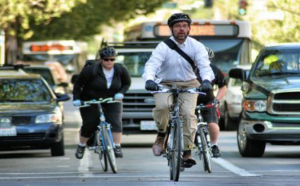 Did you ride your bike to work today?