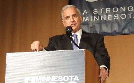 MN Gov Dayton Symbolically Vetoes Gay Marriage Ban Amendment (VIDEO)