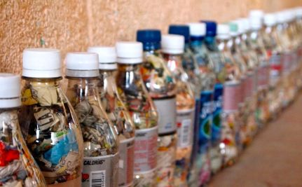 Building Schools With Recycled Plastic Bottles
