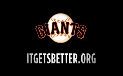 San Francisco Giants to LGBT Teens: It Gets Better! (VIDEO)