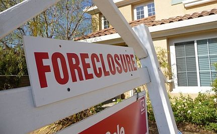 Bank of America Gets Foreclosed
